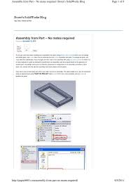 solidworks weldment to asseembly computing technology