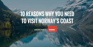 norway 10 reasons to visit norway u0027s coast sponsored smithsonian