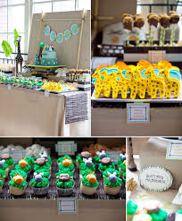 jungle themed birthday party kara s party ideas safari jungle one animal 1st birthday