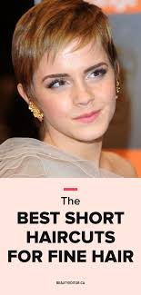 stringy hair cuts the best short haircuts for fine hair beautyeditor