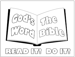 coloring pages reading coloring page of child reading the bible in