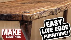 making a live edge table live edge slab furniture the happy accident that didn t go as