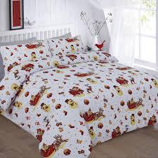 Double Christmas Duvet Christmas Bedding Set Full Tokida For