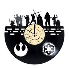 star wars clocks u003c star wars home décor the force gifts