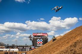 motocross bikes games tom pages wins x games moto x quarterpipe