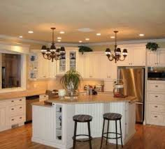 traditional kitchen lighting ideas recessed lighting ideas for l shaped kitchen layout with mini glass