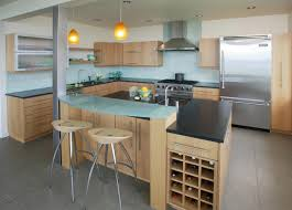 Glass Kitchen Island Best Glass Countertops Ideas For Your Kitchen 3424 Baytownkitchen