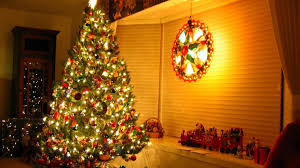 download wallpaper 1920x1080 christmas tree gifts garlands