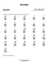 Count Basie Splanky Pdf Sammy Nestico Sheet To And Print Center Of