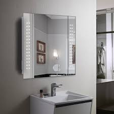 Heated Bathroom Mirror With Light Light Up Bathroom Mirror Cabinet Bathroom Mirrors