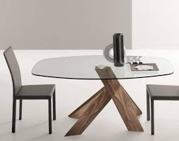 oval glass dining table oval glass dining table in inspirations 12 visionexchange co