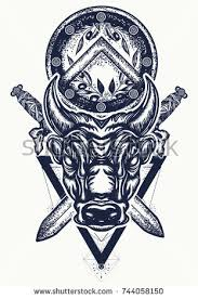 bull tattoo stock images royalty free images u0026 vectors shutterstock