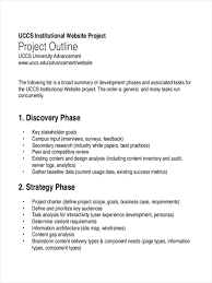 how to write an outline for research paper 23 free outline examples free project sample outline