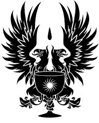 dragon age grey warden heraldry griffon vinyl decal zoom