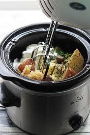 cooker buttery garlic herb mashed potatoes creme de la crumb