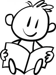 coloring pages disney children reading books book boys kids
