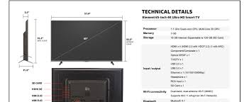black friday amazon tablet 35 amazon com element 43 inch fire tv edition tv with amazonbasics