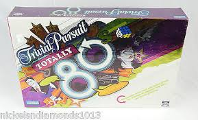 80s trivial pursuit new sealed trivial pursuit totally 80s brothers hasbro