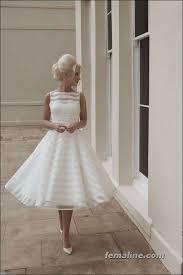 wedding dress pendek 25 ide terbaik knee length wedding dresses di gaun