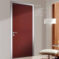 porte des chambres en bois chambre à coucher de châssis en alliage aluminium porte en bois