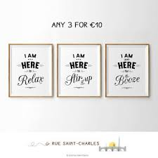 free printable art home decor buy 2 get 1 free printable art from ruesaintcharles on etsy
