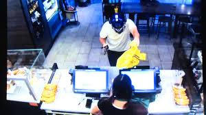 starbucks customer fights armed robber with a chair