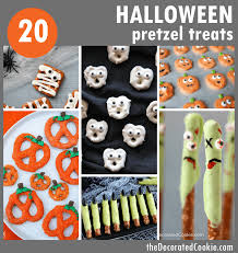 20 halloween pretzel treats roundup the decorated cookie