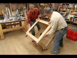Plans For Building A Wooden Workbench by How To Build A Utility Cart This Old House Youtube