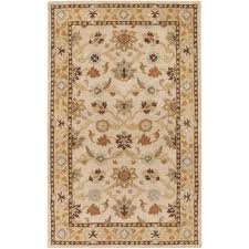 artistic weavers john beige 4 ft x 6 ft area rug jhn 1010 the