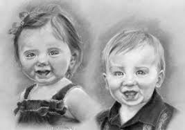 how to draw faces in pencil draw faces with pencil step by step