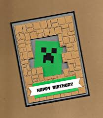 best 25 minecraft birthday card ideas on pinterest minecraft