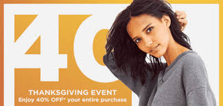 gap canada thanksgiving sale event 40 your entire purchase