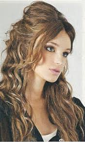 hairstyles for curly hair with bangs medium length pictures on hairstyles for medium length curly hair with bangs