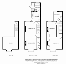 typical victorian terraced house plan terrace house floor plan texas plans