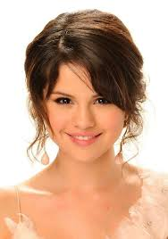 best 15 years hair style selena gomez cute hairstyle with side bangs for girls best 15