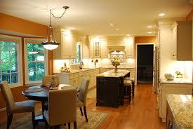 mid century kitchen design furniture exciting silestone vs granite with classic chandelier
