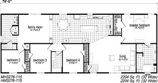 4 bedroom single house plans 4 bedroom single wide commodore homes sensible three bedroom