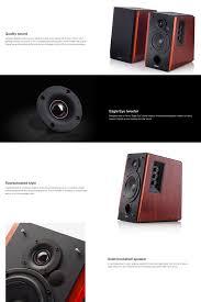 Bookshelf Speakers With Bass Edifier R1700bt Multifunctional 2 0 Bluetooth Bookshelf Speaker