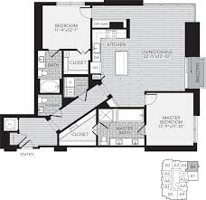 Floor Plans For 2 Bedroom Apartments Houston Apartment Rentals Floor Plans For Aris Market Square