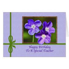 teacher birthday greeting cards zazzle