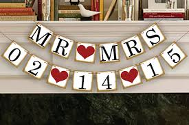 Save The Date Signs Mr Mrs Save The Date Banner Wedding Photo Prop Mr Mrs Save The