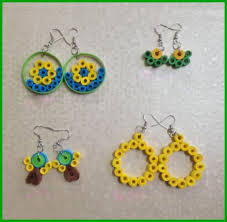 how to make jhumka earrings quilling earrings simple and pretty 5 steps with pictures
