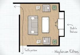 living room floor plans living room layouts wayfair