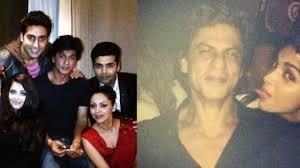 inside details shahrukh khan birthday party video dailymotion