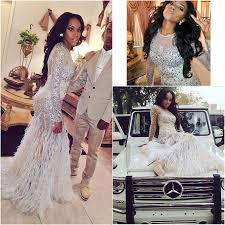 2015 luxury bling sparkle long sleeve prom dresses mermaid