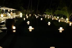 candlelit thanksgiving dinner picture of el nido resorts
