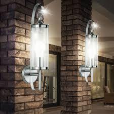 outdoor lights set of 2 outdoor lights stainless steel wall ls garden patio
