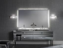contemporary vanity chairs for bathroom with black leather and