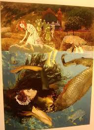 Mermaid Fairy Inspiring Fairy Tale Art Thrifty Vintage Chic