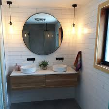 Wooden Vanity Units For Bathroom Timber Wall Mount Vanity Cabinet Without Top 1500mm